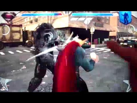 Man Of Steel Android Gameplay First Look (Tegra 3)