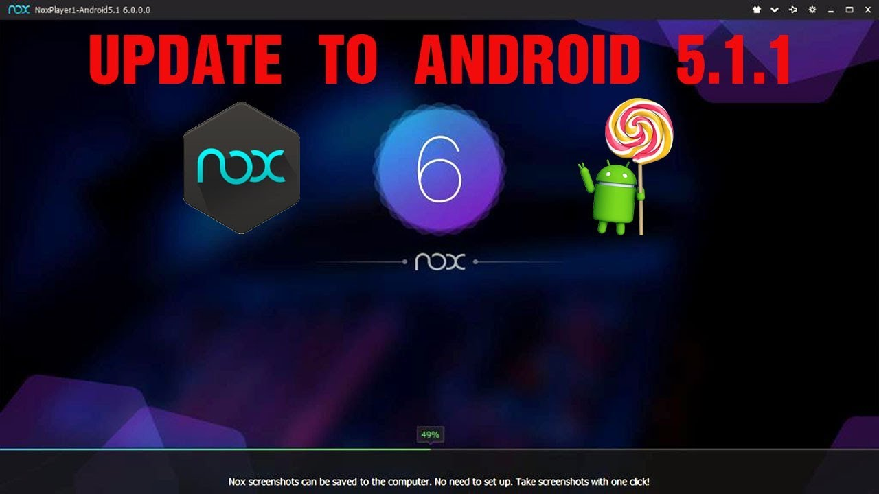 Nox Player 6 - Update to Android 5 1 1 - YouTube