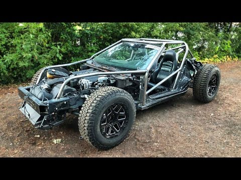 Building A Roll Cage For The Off-Road Vette Kart
