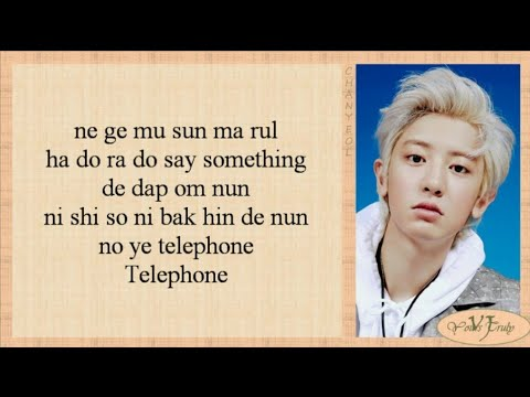 EXO-SC (세훈&찬열) - Telephone (척 feat. 10CM) Easy Lyrics