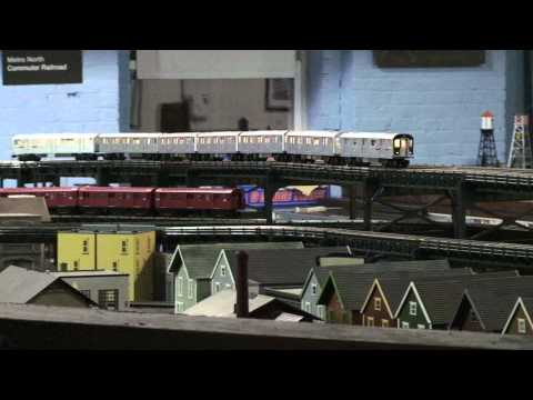 Part-2, 2011 of the New York City O Scale EL Subways at the NJ Hi-Railers Club – Jan 2011