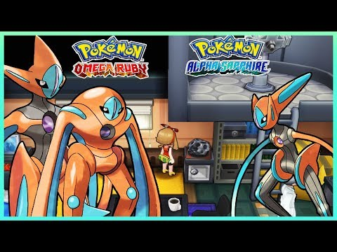 Pokemon OmegaRuby & AlphaSapphire - How To Change Deoxys Forms
