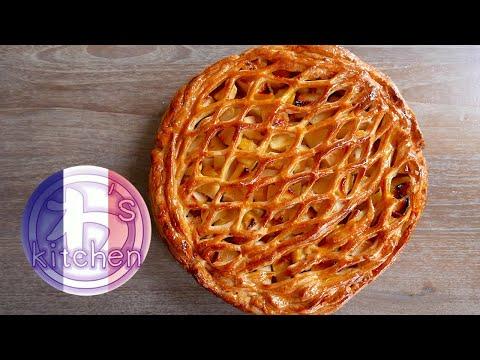 tarte-aux-pommes- -recette-japonaise- -wa's-kitchen