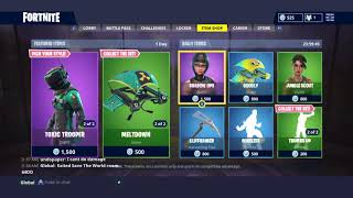 New Toxic Trooper and Hazard Agent Skins+ Autocleave and Meltdown Glieder Fortnite