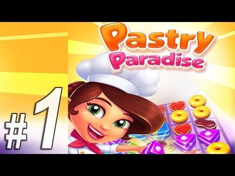 Pastry Paradise: Крутые кексы, Прохождение игры, Часть 1