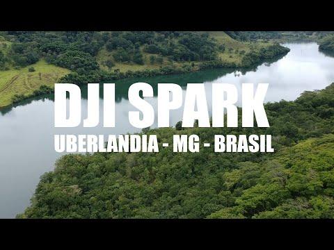 DRONE DJI Spark - Voando em Uberlandia-MG - Brasil