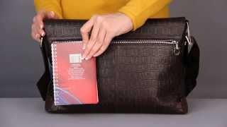 Мужская сумка Salvatore Ferragamo 72-689 BROWN, обзор, цена