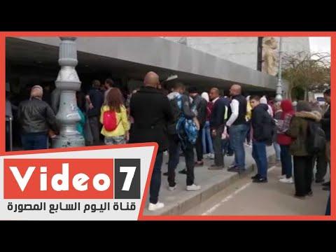 شعب مثقف بطبعه.. طوابير مكتبة الاسكندرية تنافس طوابير السينما  - نشر قبل 1 ساعة
