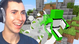 Reacting to Craziest 900IQ Minecraft Plays in History