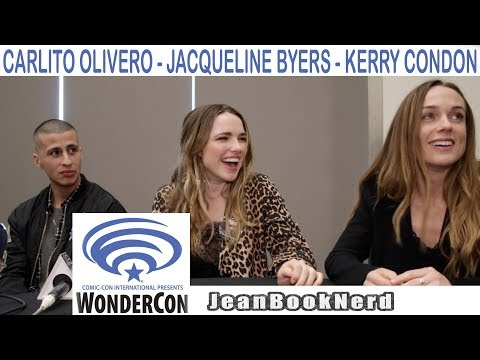 BAD SAMARITAN CAST   Wondercon 2018  JeanBookNerd