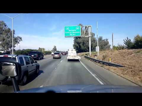 BigRigTravels LIVE! Modesto to Sacramento, California CA 99 & 4, Interstate 5-Nov. 22, 2017