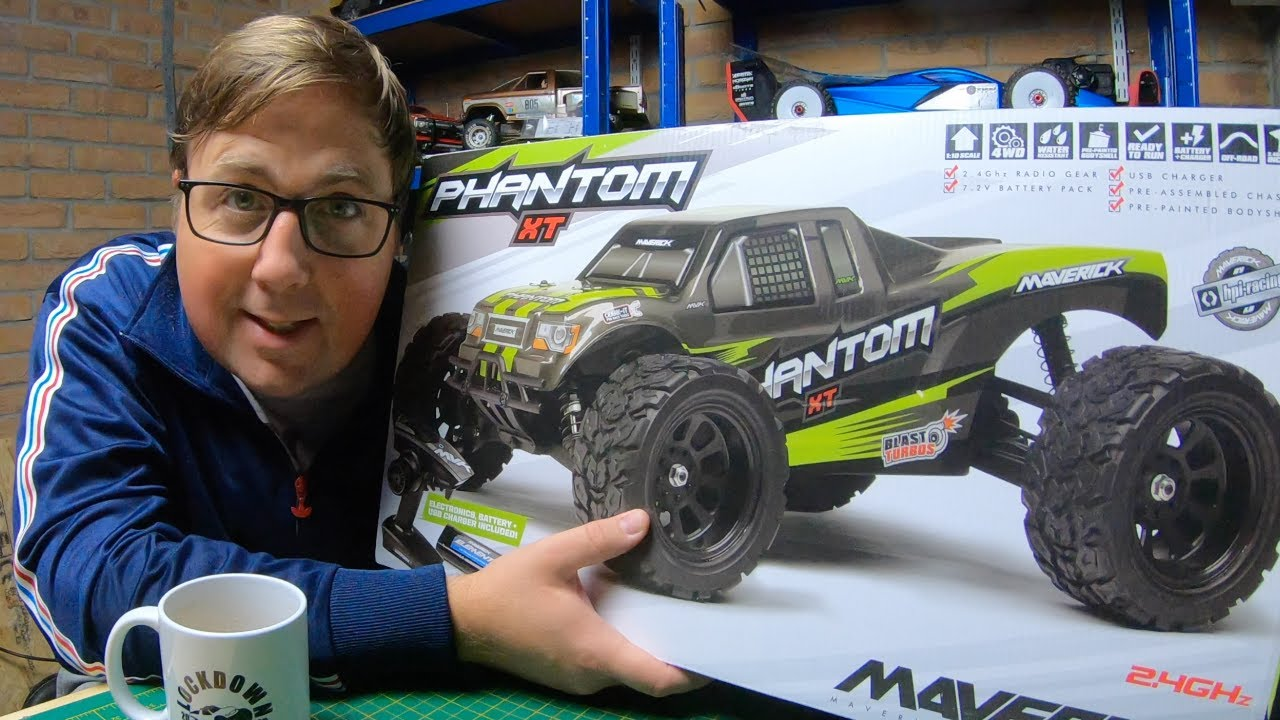 NEW Maverick Phantom XT -The Cheapest 1/10 Basher you can buy! (from your LHS)