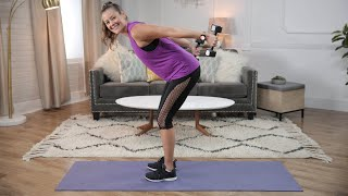 10-Minute Sexy, Sculpted Arms, Back and Shoulders Workout