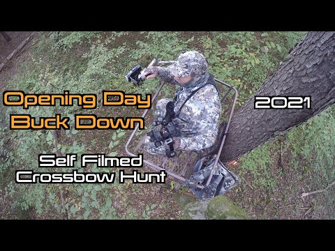 2021 Crossbow Buck Hunt (Opening Day Success)