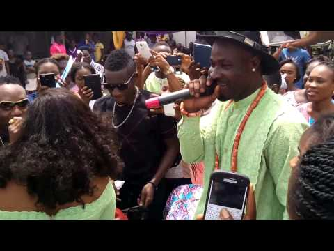Harrysong Dad's Burial in Ogbe Ijoh