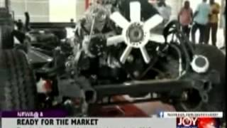Made-in-ghana cars ready for market - joy news (12-6-14)