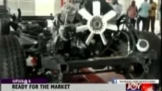 Made-in-Ghana Cars Ready for Market - Joy News (12-6-14)