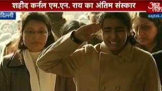 Tearful adieu to martyr Col. MN Rai in Delhi
