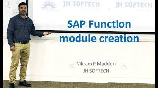 SAP Function module creation