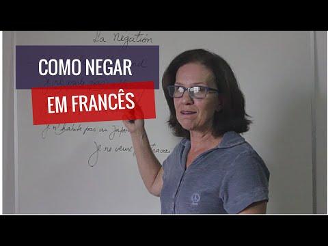 Como negar em francês! Veja como é simples!