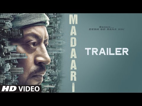 MADAARI Official Trailer 2016 | Irrfan...