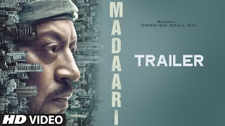 MADAARI Official Trailer 2016 | Irrfan Khan, Jimmy Shergill | T-Series thumbnail