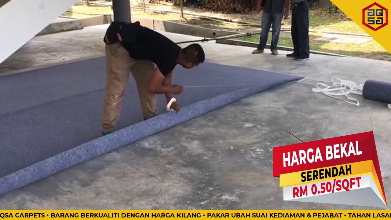 HARGA KARPET EVENT SERENDAH RM0.50/SQFT!!