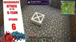 Minecraft ObsidianGate Attack of the B-Team Modpack: Episode 6 - Sludge Boiler