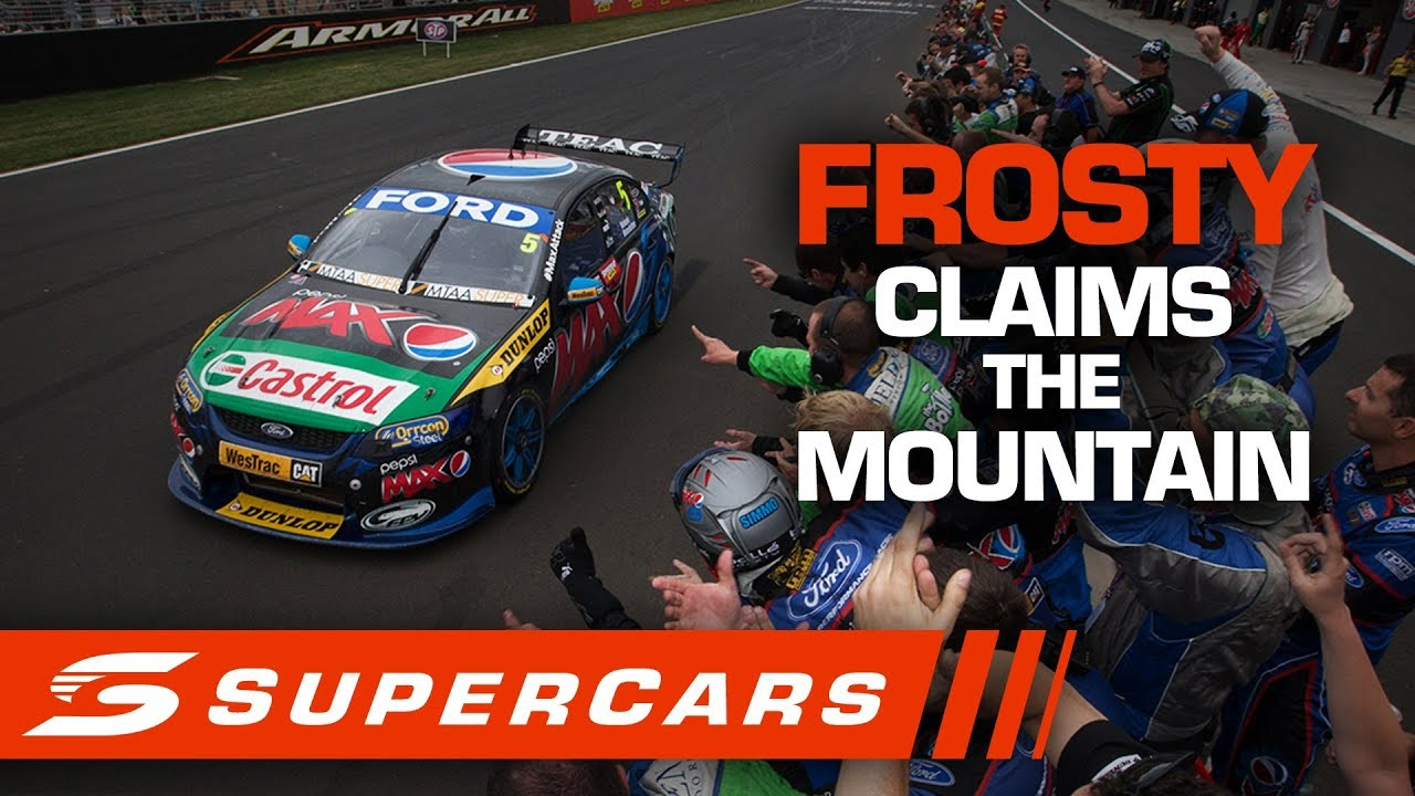 FLASHBACK: Frosty claims the top step at the 2013 Great Race   Supercars 2020