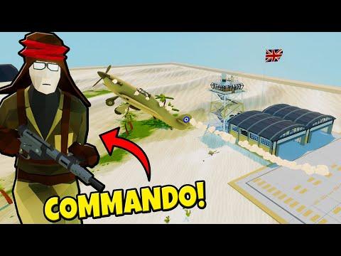 Bombing Runs on the British AIR BASE! - Total Tank Simulator: Battle Simulator |