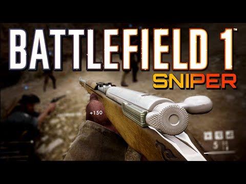 Battlefield 1: Sniper MVP on Achi Baba - Turning Tides DLC (4K PS4 PRO Multiplayer Gameplay)