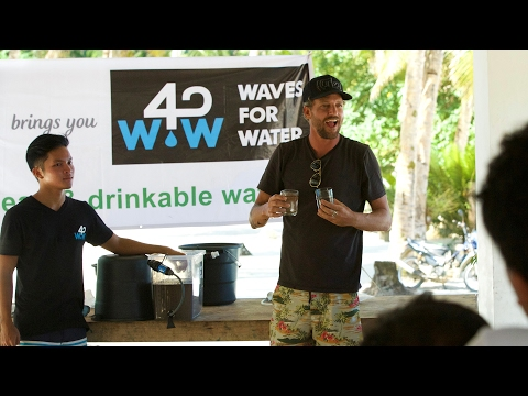 Waves for Water: Clean Water is His Life's Purpose | OFFICIAL TRAILER