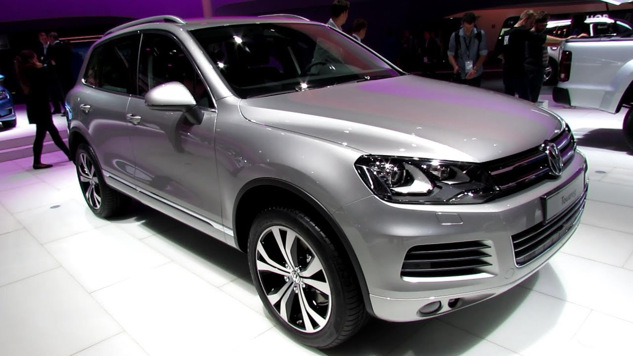 2014 volkswagen touareg v6 tdi exterior and interior walkaround 2013 frankfurt motor show. Black Bedroom Furniture Sets. Home Design Ideas