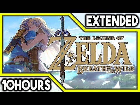 Great Fairy Fountain (Remix) - The Legend Of Zelda Breath Of The Wild Music Extended 10 Hours