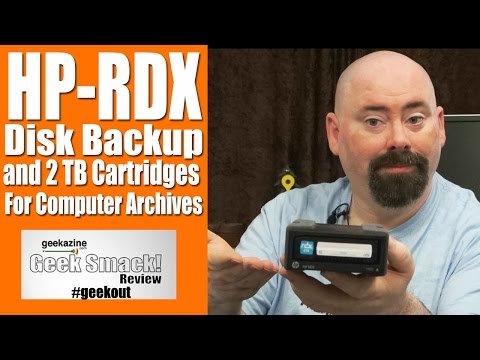 HP RDX Removable Disk Backup Storage for Archives