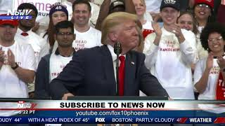 """""""I DEFEATED ISIS"""": President Trump during Keep America Great rally in Kentucky"""