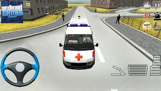 Ambulance Simulator 3D - Emergency Rescue Car Driver - Android Gameplay FHD