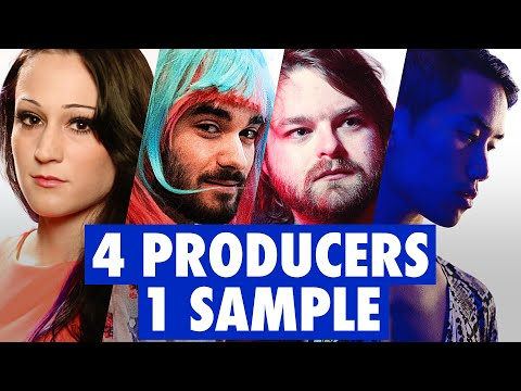4 PRODUCERS FLIP THE SAME SAMPLE ft. Dorian Electra, ABSRDST, Diveo, Neon Vines
