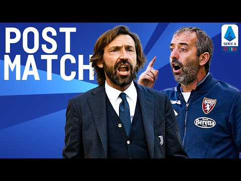 Juventus 2-1 Torino | Pirlo & Giampaolo Post Match Press Conference | Serie A TIM
