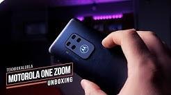 Motorola One Zoom unboxing
