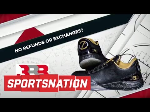 Looking At The Big Baller Brand Shoes From All Angles | SportsNation | ESPN