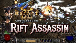 Rift Assassin Destroys Baal & Diablo - Full Build and Tutorial - Diablo 2