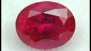 Ruby Gemstone Color