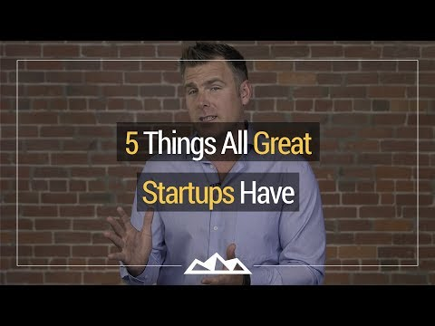 5 Things All Great Startups Have   Dan Martell