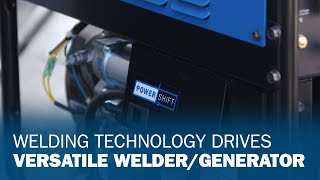 Welding Technology Drives Versatile Welder/Generator