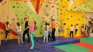 Занятия для детей на скалодроме  PRO-Движение