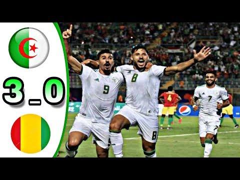 Algéria vs Guinée 3 _ 0 Goal & highlights HD