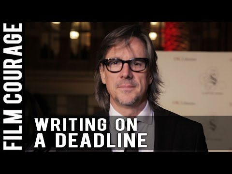 Does A Deadline Help A Writer Produce Better Work? by Charles Randolph of THE BIG SHORT