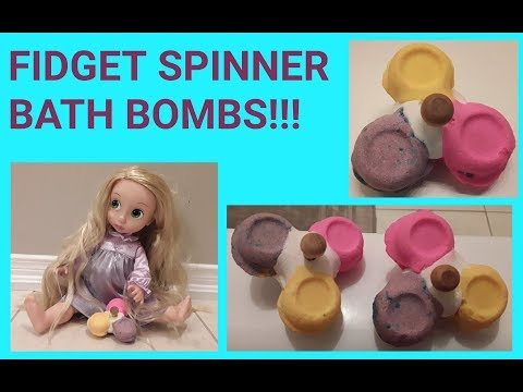 Fidget Spinner Bath Bombs