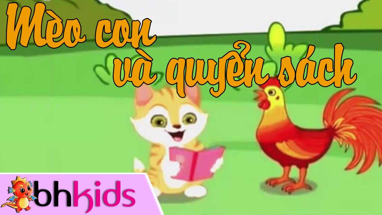 Mèo Con Và Quyển Sách – Kể Chuyện Cùng Bé [Full HD]